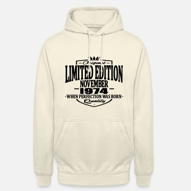 1974 Limited edition novembre 1974 - Unisex Hoodie
