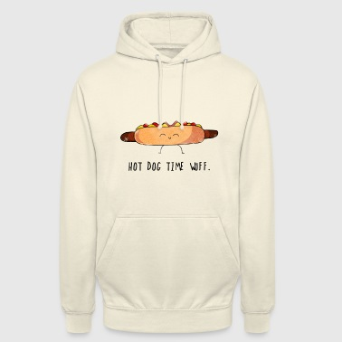 Hot-dog moutarde ketchup - Sweat-shirt à capuche unisexe
