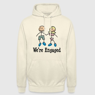 We're Engaged - Unisex Hoodie