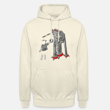AT-AT is bekleed - The Empire is hongerig Yam - Hoodie unisex