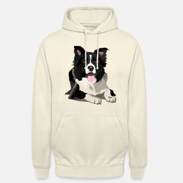 Collie BORDER COLLIE by NYA - Hoodie unisex