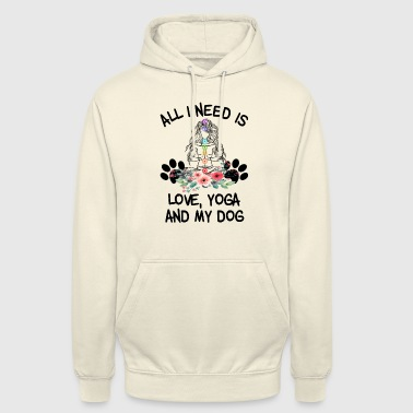 Reiki All I need is Yoga and my Dog - Unisex Hoodie