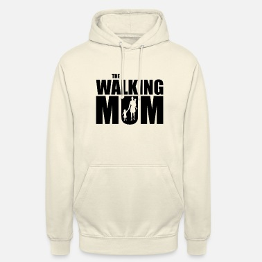 Mum MUM | The Walking Mum Geschenk Mutter Kind Eltern - Unisex Hoodie