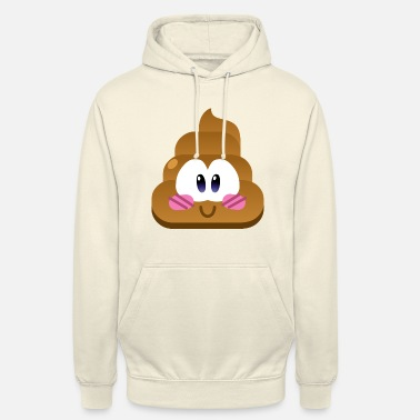 Poop - Sweat-shirt à capuche unisexe