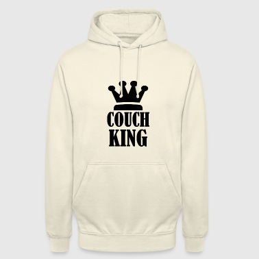 COUCH KING MAN COOL FUNNY - Luvtröja unisex