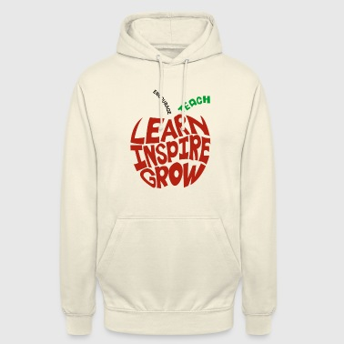 Learn Inspire Grow Encourage Teach - Unisex Hoodie