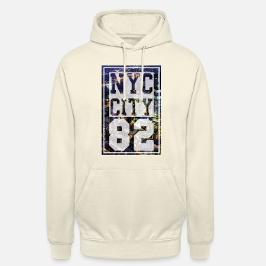 New York City New York City - New York - Felpa con cappuccio unisex