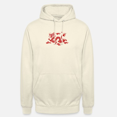 Chinese Draak Dragon Traditionele Chinese - Hoodie unisex