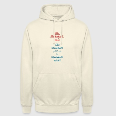 La vérité familiale lie la provocation - Sweat-shirt à capuche unisexe