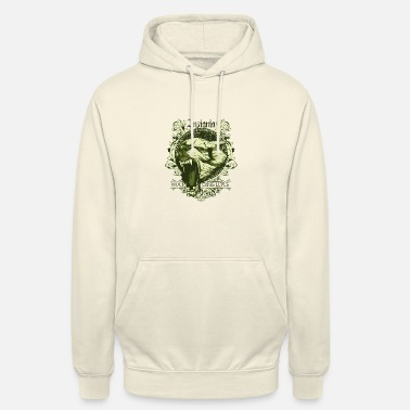Stout insigne wolf canis lupus - Hoodie unisex