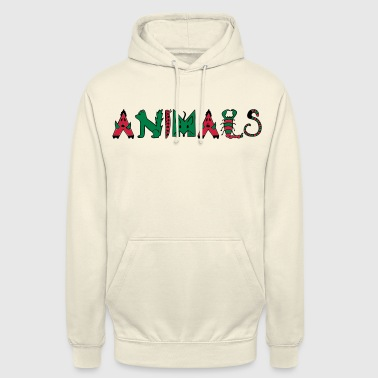 Animal Animaux - Animaux - Sweat-shirt à capuche unisexe