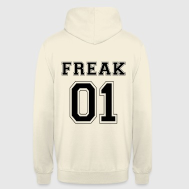 FREAK 01 - Black Edition - Unisex Hoodie