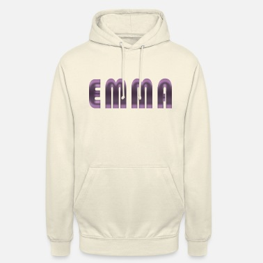 Birth Name Emma name first name name day birth gift idea - Unisex Hoodie