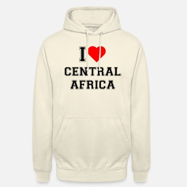 Central Park I love Central Africa - Unisex Hoodie