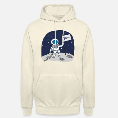 Astronaut Bitcoin to the Moon - Unisex Hoodie