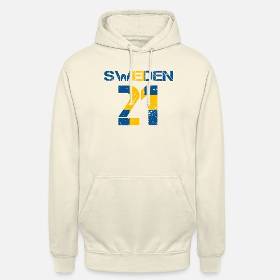 Love Hoodies & Sweatshirts - Football club team party wm SWEDEN 21 - Unisex Hoodie vanilla