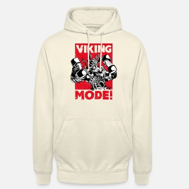 Muskel VIKING MODE! Muscle and Strength - Fitness Design - Unisex Hoodie