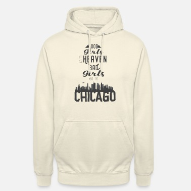 Chicago filles de chicago - Sweat à capuche unisexe