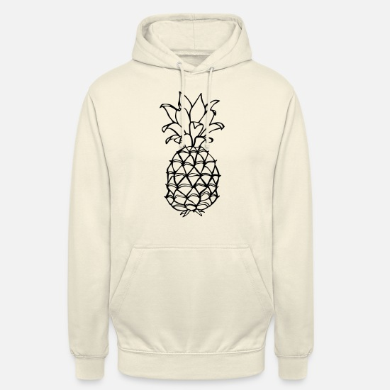 Cool Hoodies & Sweatshirts - pineapple - Unisex Hoodie vanilla