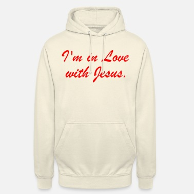 I'm in love with Jesus - Unisex Hoodie