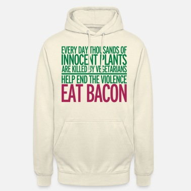Bacon Eat Bacon - Unisex Hoodie
