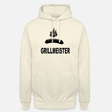 Cool Idea Grillmeister Bratwurst Fire Beer Shirt Cool idea - Unisex Hoodie