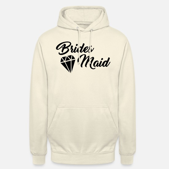 Love Hoodies & Sweatshirts - Bridesmaid T shirt - Unisex Hoodie vanilla