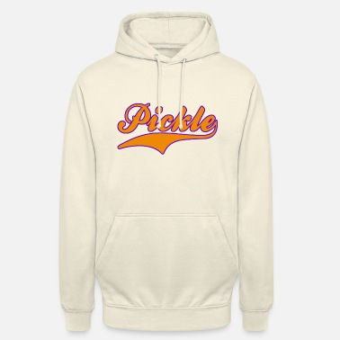 Pickle (Orange/Purple) - Unisex Hoodie