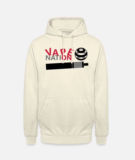 Vaping Hoodies & Sweatshirts - Vape On - Vape Nation - Unisex Hoodie vanilla