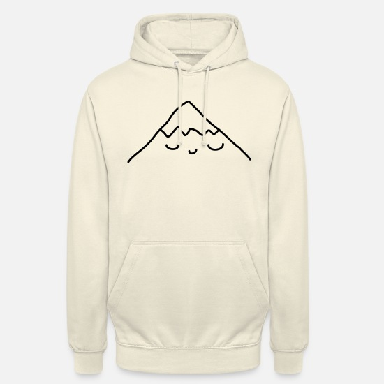 Mountain Tröjor & hoodies - Sleeping Mountain - Hoodie unisex vaniljmilkshake