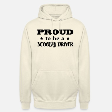 Scooby scooby driver proud to be - Unisex Hoodie