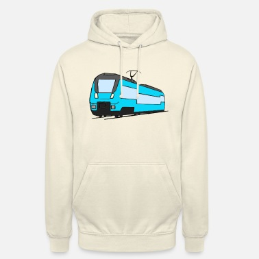 Regional Train Regional train train locomotive railroad model railway - Unisex Hoodie