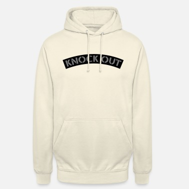 Knock Out Knock out patch design - Unisex Hoodie