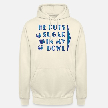 Together sugar in bowl - for women - Unisex Hoodie