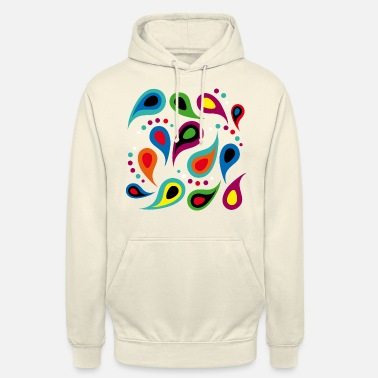Colorful Colorful drops - Unisex Hoodie