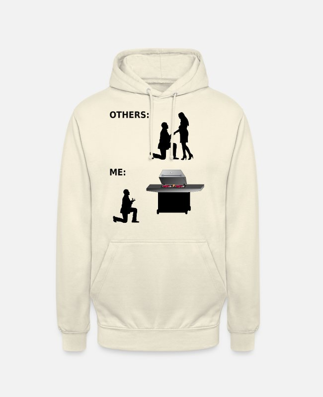 Grillmaster Hoodies & Sweatshirts - Grill - Barbecue - Grill Master - Gift - Unisex Hoodie vanilla