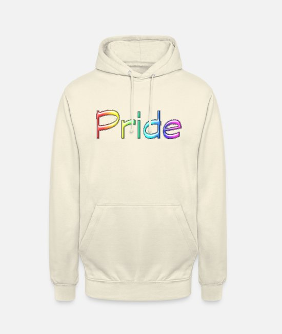 Marriage Equality Hoodies & Sweatshirts - Pride Rainbow - Unisex Hoodie vanilla