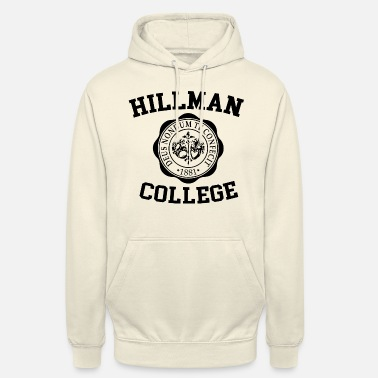 Football Hillman College Graphic - Unisex hoodie