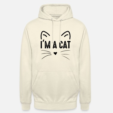 Sayings I am a cat costume - Unisex Hoodie