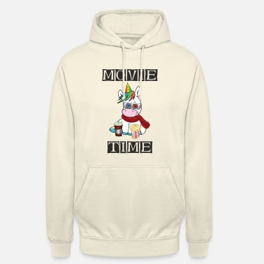 Visit The Cinema Film from - unicorn in the cinema - Unisex Hoodie