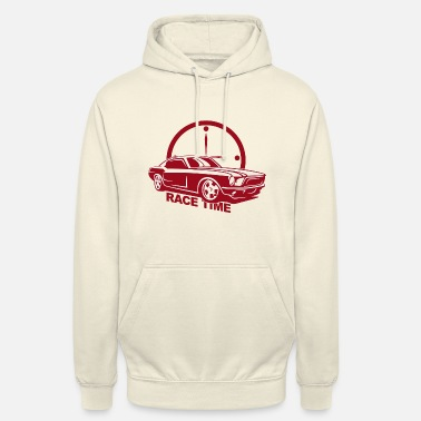 Auto Racing Auto Race Time - Unisex Hoodie