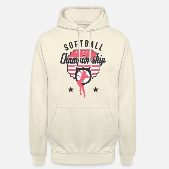 Softball Sweat-shirts - Championnat de softball - Sweat à capuche unisexe vanille