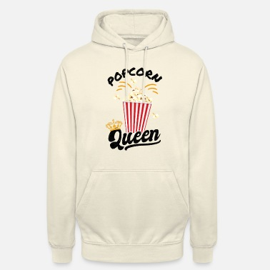Visit The Cinema Popcorn costume - popcorn queen - cinema carnival - Unisex Hoodie