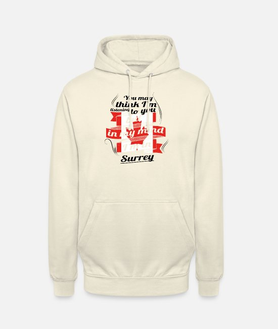 Travel Bug Hoodies & Sweatshirts - HOLIDAY HOME ROOTS TRAVEL Canada Canada Surrey - Unisex Hoodie vanilla
