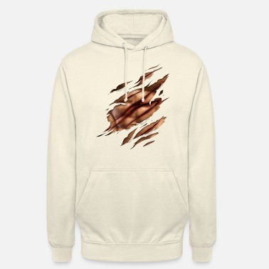sixpack scratch - Unisex Hoodie