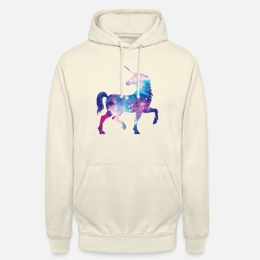 Unicorn with constellation design - Unisex Hoodie
