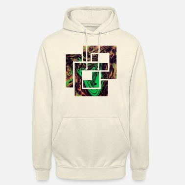 Abstract Shape Colorful Shapes Square shape colorful abstract - Unisex Hoodie