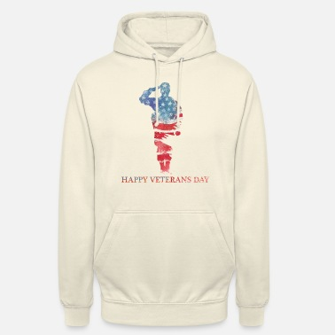 Happy Veterans Day - Remember Military - Unisex Hoodie