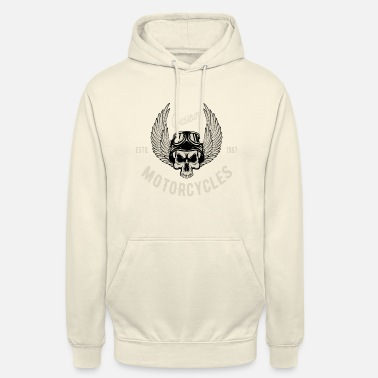 Was Custom Motorcycles - Sweat à capuche unisexe