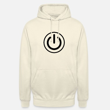Button On Off button - Unisex Hoodie